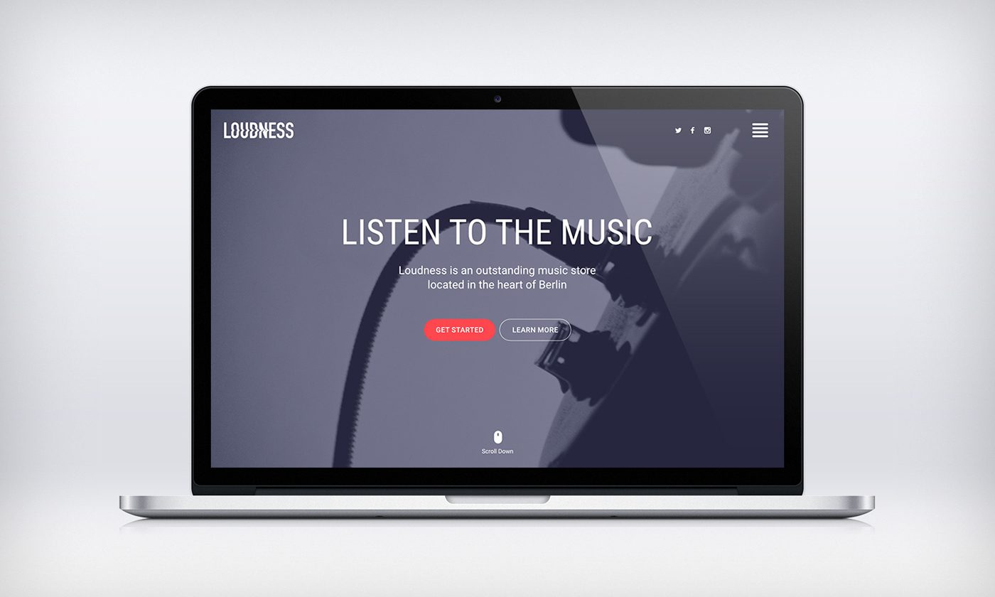loudness-website